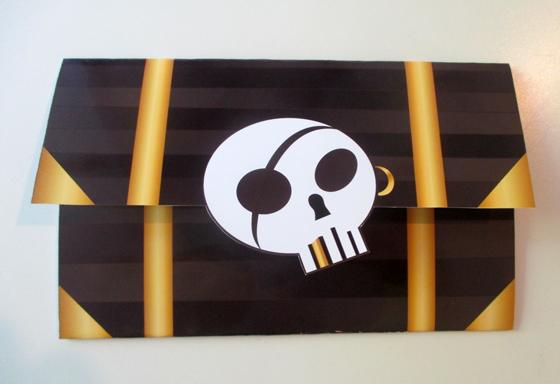 skattekiste-invitation til piratfest