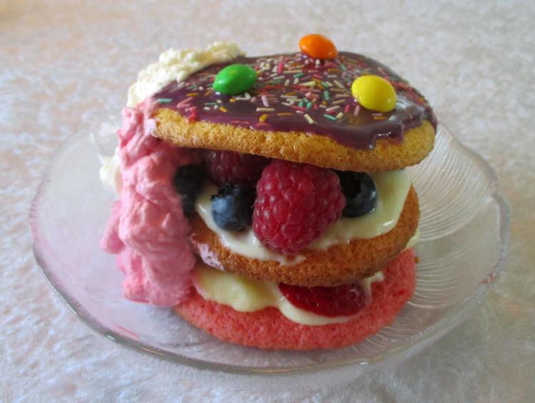 Kage til fødselsdagfest